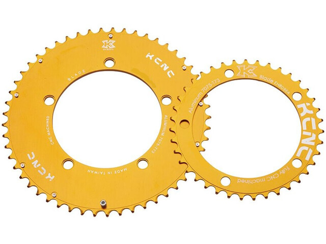 KCNC Blade Road Chainring 5-Arm 110mm BCD gold